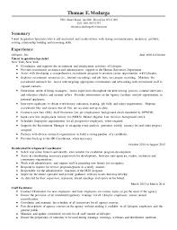 Talent Acquisition Specialist Resume Zromtk Interesting Employment Specialist Resume