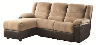 huxley two tone sectional sofa with one