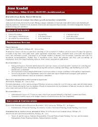 Banking Resume Examples Stunning Banker Objective Resume Image Collections Free Resume Templates