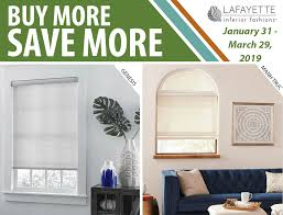for a limited time save big when you select lafayette interior fashions window shades