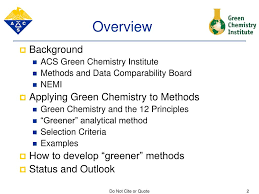 Ppt Identifying Greener Analytical Methods In Nemi For More