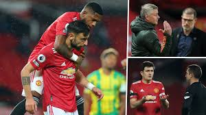 Fernandes fires Man Utd to first home win but Solskjaer again left with  more questions than answers