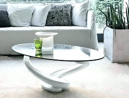 round white gloss coffee table chrome glass coffee table coffee table glass top coffee table white