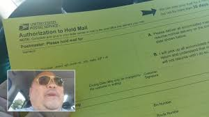 How To Hold Mail At Post Office When Travelling On Vacation Youtube