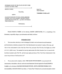 findlaw million sexual harassment lawsuit against maury  findlaw legal news information