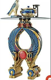 Design Toscano Egyptian Wings Of Horus Grand Altar Console Table Design Toscano Wings Of Horus Egyptian Altar Side Table