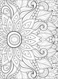 Pictures Of Flowers Coloring Pages Avusturyavizesiinfo