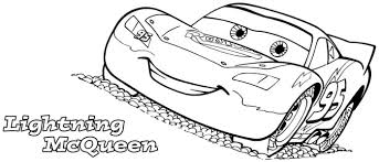 Small Picture Lightning McQueen Coloring Pages Lightning Mcqueen From Cars 3