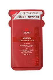 Buy LEADERS <b>MEDIU AMINO PORE TIGHT MASK</b> Online at Low ...
