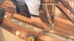 old hardwood floor repair restoration before refinishing how to tips mryoucandoityourself you