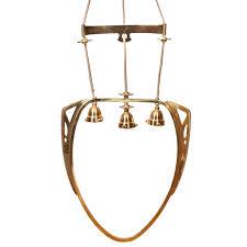 art nouveau brass chandelier 3 2 766 00