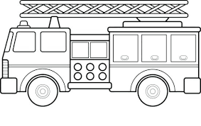 Fire Station Coloring Page Fire Truck Coloring Page Coloring Fire