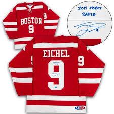 1 defenseman in his fourth season. Jack Eichel Boston University Terriers Signed Hobey Baker Custom Hockey Jersey Barnebys