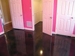 concrete floors stained concrete and floors on pinterest bedroom flooring pictures options ideas