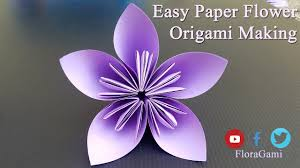 Paper Flower Arrangements How To Make Origami Paper Flower Arrangements Easy Origami Art