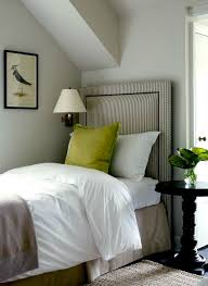 striped headboard