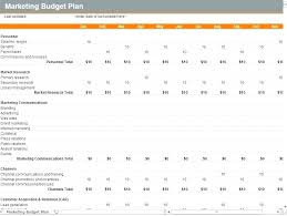 Excel Example Download Marketing Campaign Plan Template Budget Advertising Excel