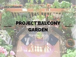 Balcony Garden Project Balcony Garden Preparation Young And Broke