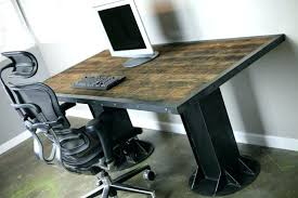 custom made office desks. Custom Made Desks Cool Office Trendy Industrial Desk Modern .