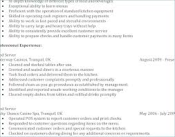 Resume For Fast Food Manager Ceciliaekici Com