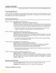 Registered Nurse Resume Examples New 37 Fresh Sample Resume Format