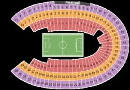 Los Angeles Coliseum Seating Chart Los Angeles Memorial Coliseum Tickets And Los Angeles