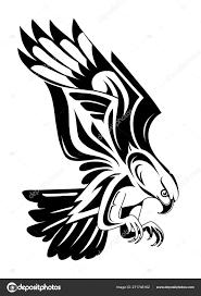 Tvar Tetování Orel Stock Vektor Akvlv 271746162