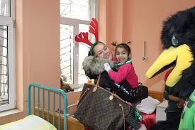 FC Pirin Blagoevgrad – Official website » Pirenzo charmed kids from the  Children's Ward in Blagoevgrad