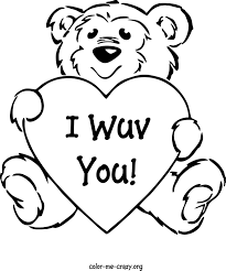 Small Picture Valentine Day Color Pages Valentines Day Coloring Pages Kids