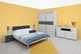 Schlafzimmer Komplett Set I Bermeo 6 Teilig Farbe Eiche Weiß
