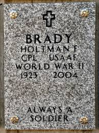 Holtman Francis Brady (1923-2004) - Find A Grave Memorial
