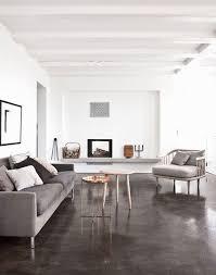 dark polished concrete floor. Plain Concrete Dark Polished Concrete Floors For A Living Room On Dark Polished Concrete Floor