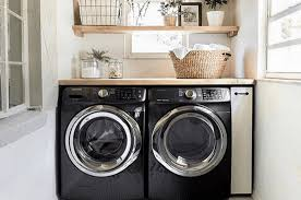 Outstanding black white laundry room ideas Farmhouse Wide Open Country 10 Laundry Room Ideas For Small Medium And Large Spaces