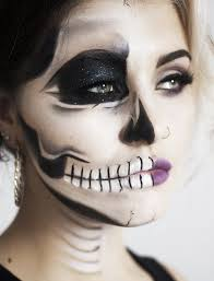 you cucinotta cucinotta kersh sugar skull makeup tutorial edgy half face skull