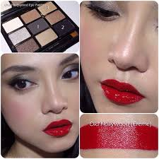 clic makeup tutorial cat eye red lips sona gasparian bobbi brown old hollywood makeup tutorial add
