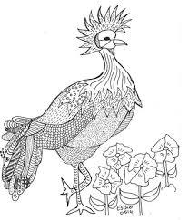 Een Vogel Kleurplaat Voor Gevorderden Droomvallei Uitgeverij