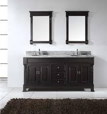 Double Vanity Cabinets Bathroom Huntshire 72 Double Bathroom Vanity Cabinet Set Virtu Usa