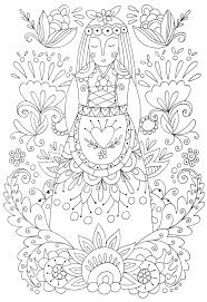 folk art coloring pages.  Coloring Folk Art Coloring Pages 2 At Intended