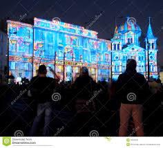 Liberty Light Show Lodz City Festival Of Light Editorial Photo Image Of