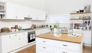 Diy Flat Pack Kitchens Kitchen Gallery City Meets Country Kaboodle Kitchen