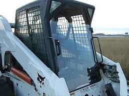 lexan door sides skid steer loader