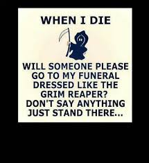 Funny Death Quotes
