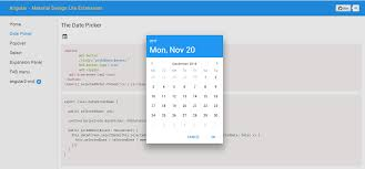 Material Design Lite Datepicker The Mdl Datepicker Dont Show 31 December Correctly Issue
