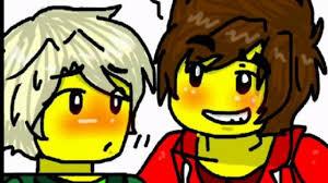 Ninjago Lloyd and kai i need love Greenflame - YouTube