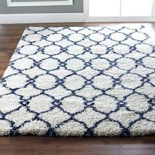 navy and cream rug plush trellis navy ivory or ivory navy navy and cream runner navy and cream rug