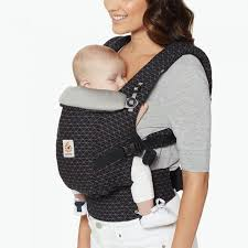 Adapt - Newborn to Toddler Carrier - Geo Black | Ergobaby