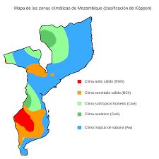 Mozambique Map Of Köppen Climate Classification Desert