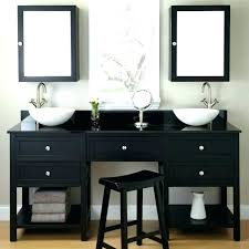 black makeup vanity black makeup vanity table with
