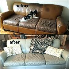 leather couch dye kit re dye leather furniture dye leather couch restoration before and after from
