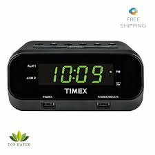 timex t129 usb alarm clock dual usb charging power supply whdoe 05035 manual